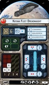 Dreadnaught Katana Rebel Card